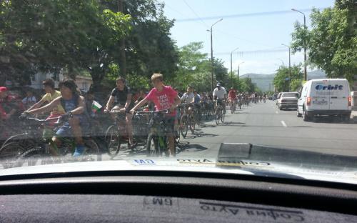 снимки колоездачна обиколка