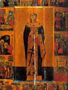 Св. вмчца Екатерина. Св. вмчк Меркурий