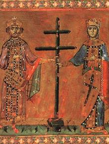 Св. равноапостолни цар Константин и царица Елена