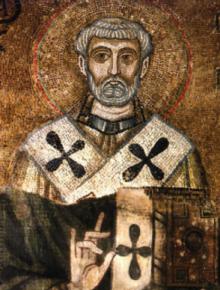 Св. свещеномъченик Климент, трети епископ Римски