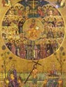 Свети пророк Даниил и св. 3 отроци Анания, Азария и Мисаил
