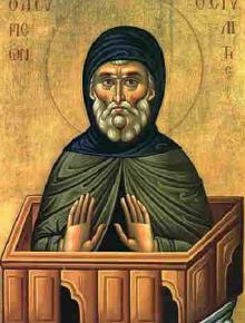 Св.  преподобни Симеон Стълпник