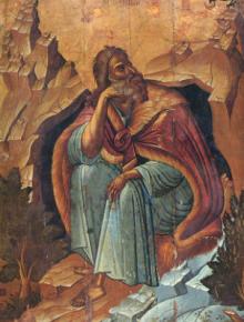 Света Четиридесетница  Възкресяване на Лазаря