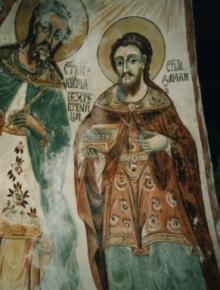 Свв. безсребърници Козма и Дамян в Рим