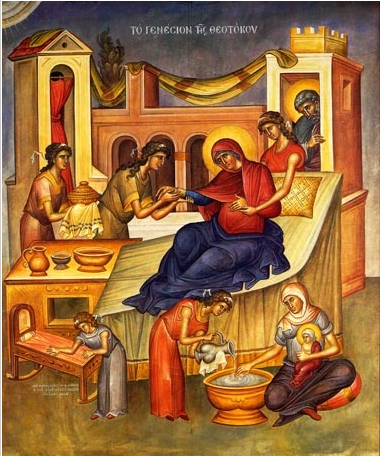 Резултат с изображение за Рождество на Пресвета Богородица