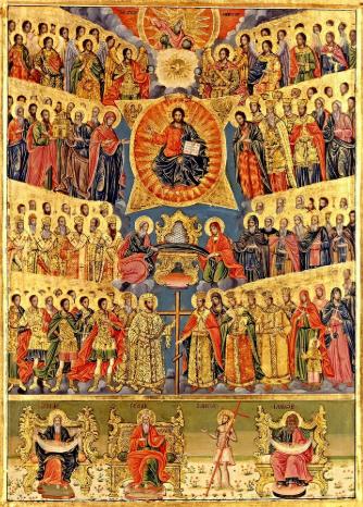 Неделя след Петдесетница - на Всички светии(Петрови заговезни)