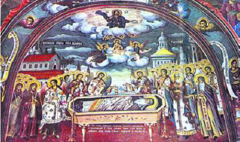 Успение на св. Иван Рилски